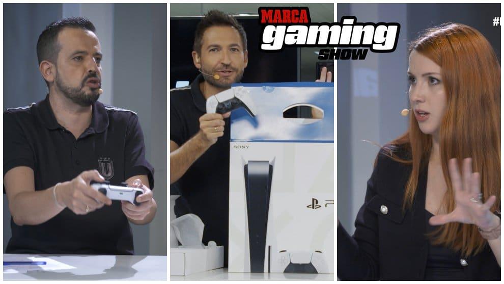 Playstation El unboxing de la PS5 en MARCA Gaming Show