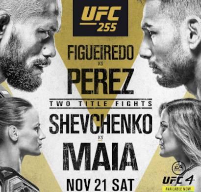 UFC 255 EN VIVO Cartelera Fecha Horario Canal TV