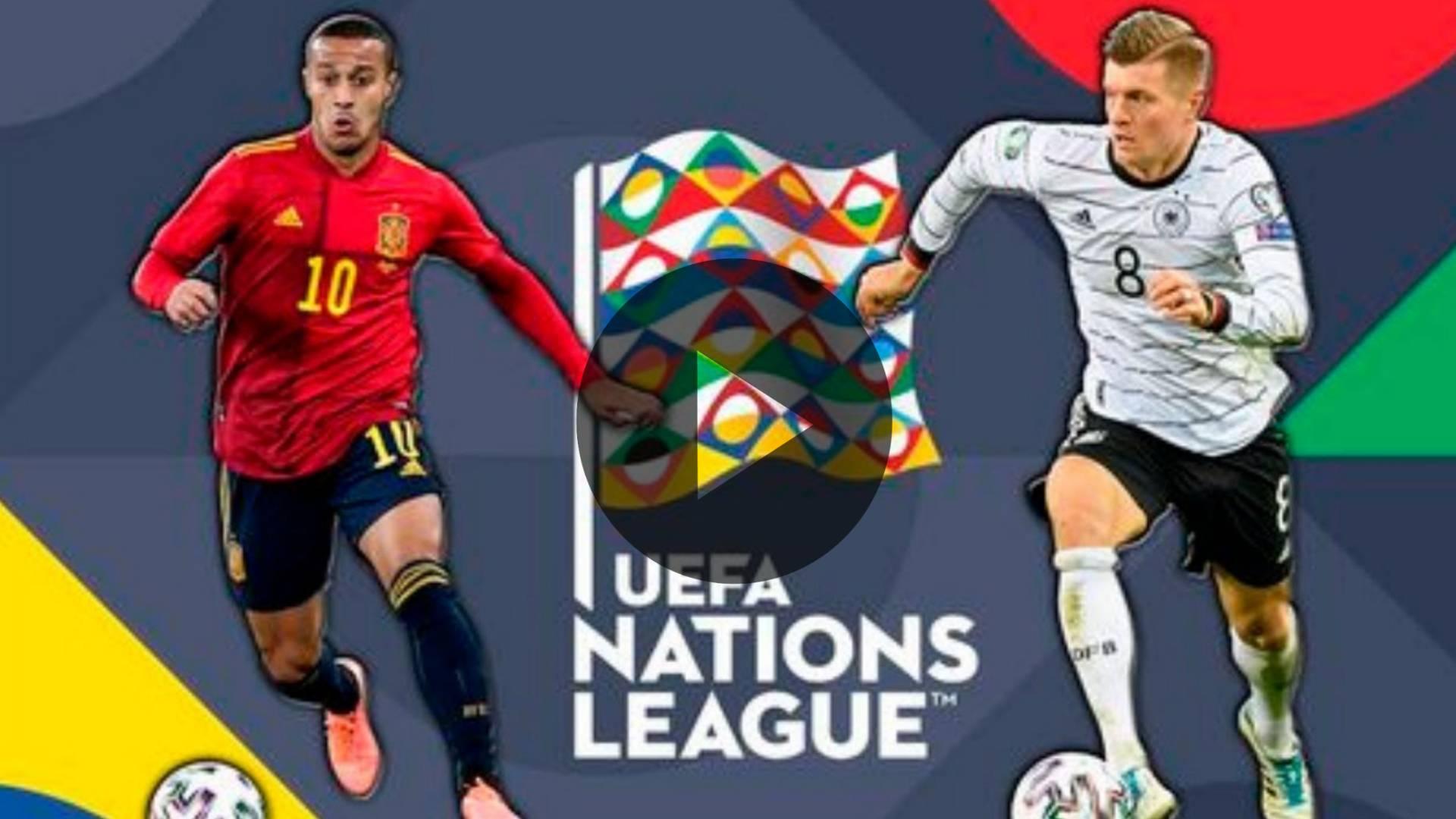 EN VIVO: ESPAÑA VS ALEMANIA: UEFA NATIONS LEAGUE: HOY EN DIRECTO COMO, DONDE Y HORARIOS DEL PARTIDO
