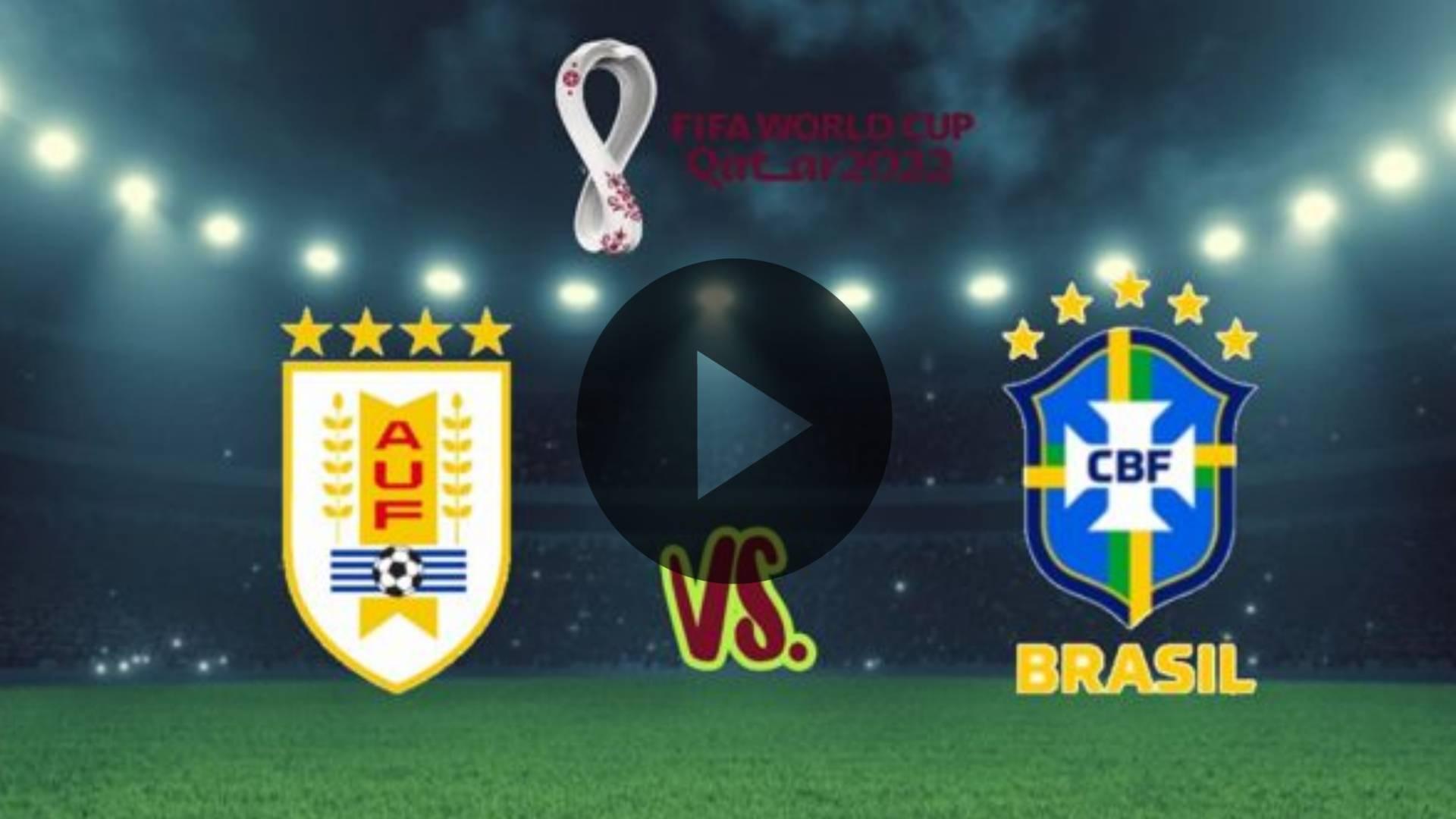 HOY AQUI Uruguay vs Brasil EN VIVO por Eliminatorias Qatar 2022