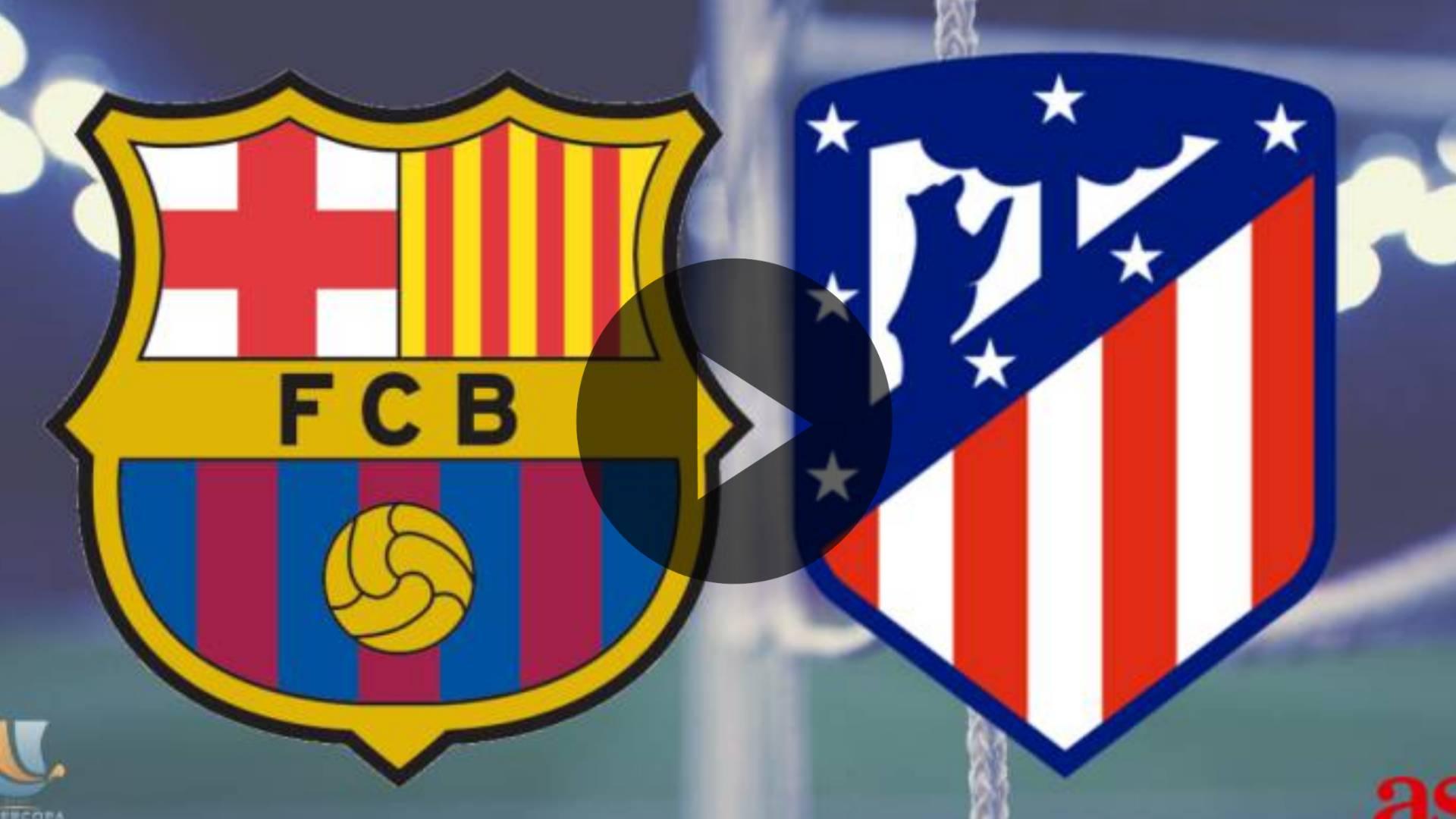 AQUI EN VIVO GRATIS ONLINE ATLETICO DE MADRID VS BARCELONA: El Atlético de Madrid contra el Barcelona: La Liga en vivo, canal de TV