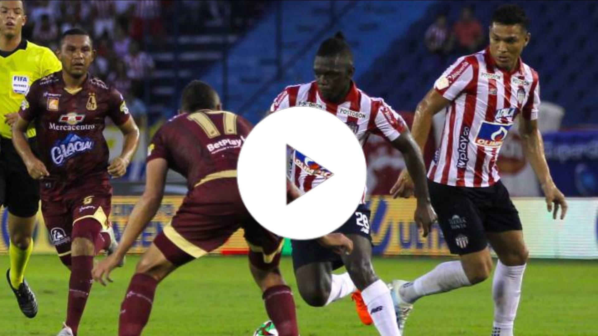 EN VIVO: Junior vs Tolima: dónde y cómo ver el partido de cuartos en la Liga BETPLAY 2020
