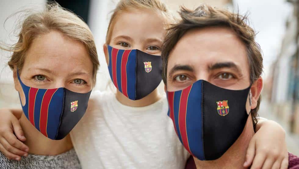 Consigue con Mundo Deportivo la mascarilla oficial del Barça