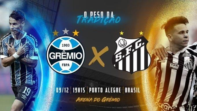 EN VIVO Gremio vs Santos online por los cuartos