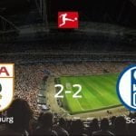 FC Augsburgo 2 - 2 Schalke 04