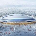 Finalizada la sede de patinaje de velocidad de los Juegos Olímpicos de Invierno de Beijing 2022