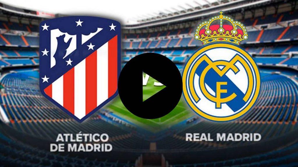 EN VIVO: REAL MADRID VS ATLETICO DE MADRID: VER EN VIVO ATLETICO DE MADRID VS REAL MADRID JUEGO CLAVE PARA ZIDANE