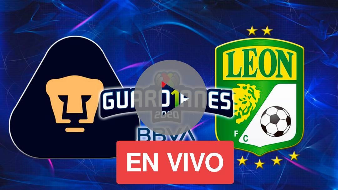 EN VIVO PUMAS VS LEON: COMO VER EN VIVO LEON VS PUMAS UNAM: AQUI EN VIVO GRATIS ONLINE PUMAS VS LEON POR LA FINAL DE LA LIGA MX 2020