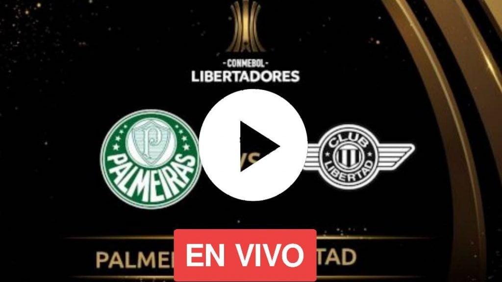 HOY PALMEIRAS VS LIBERTAD EN VIVO LIVE STREAMING POR LOS CUARTOS DE FINAL DE LA COPA LIBERTADORES 2020