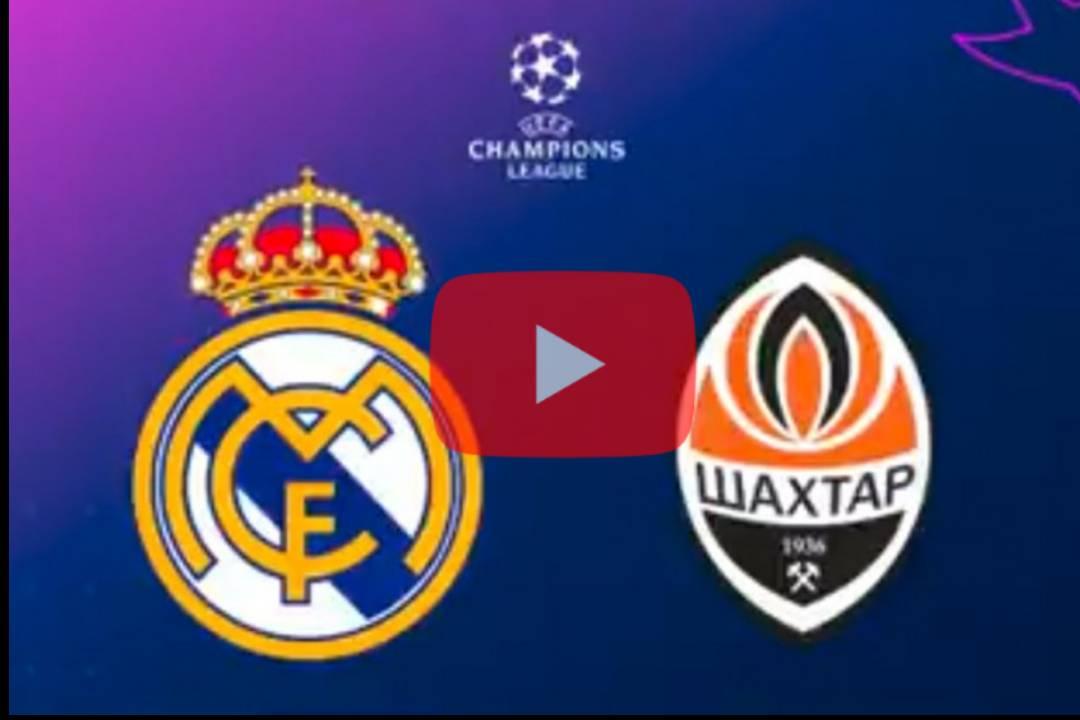VER ONLINE Shakhtar Donetsk vs Real Madrid Live Stream: Vea la Liga de Campeones en línea, TV, Tiempo