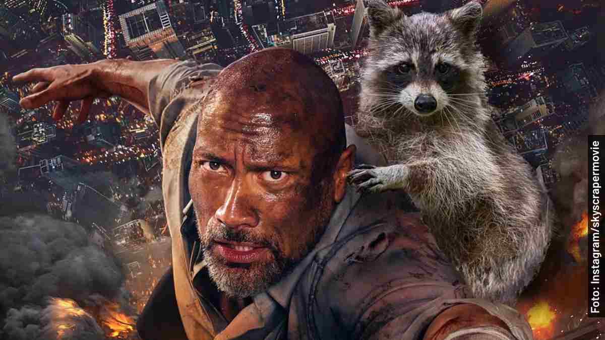 personajes rascacielos rescate en las alturas película