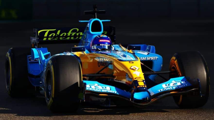 Alonso hace rugir de nuevo un motor V10