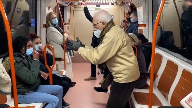 Coronavirus La bochornosa discusin en el Metro de Madrid por