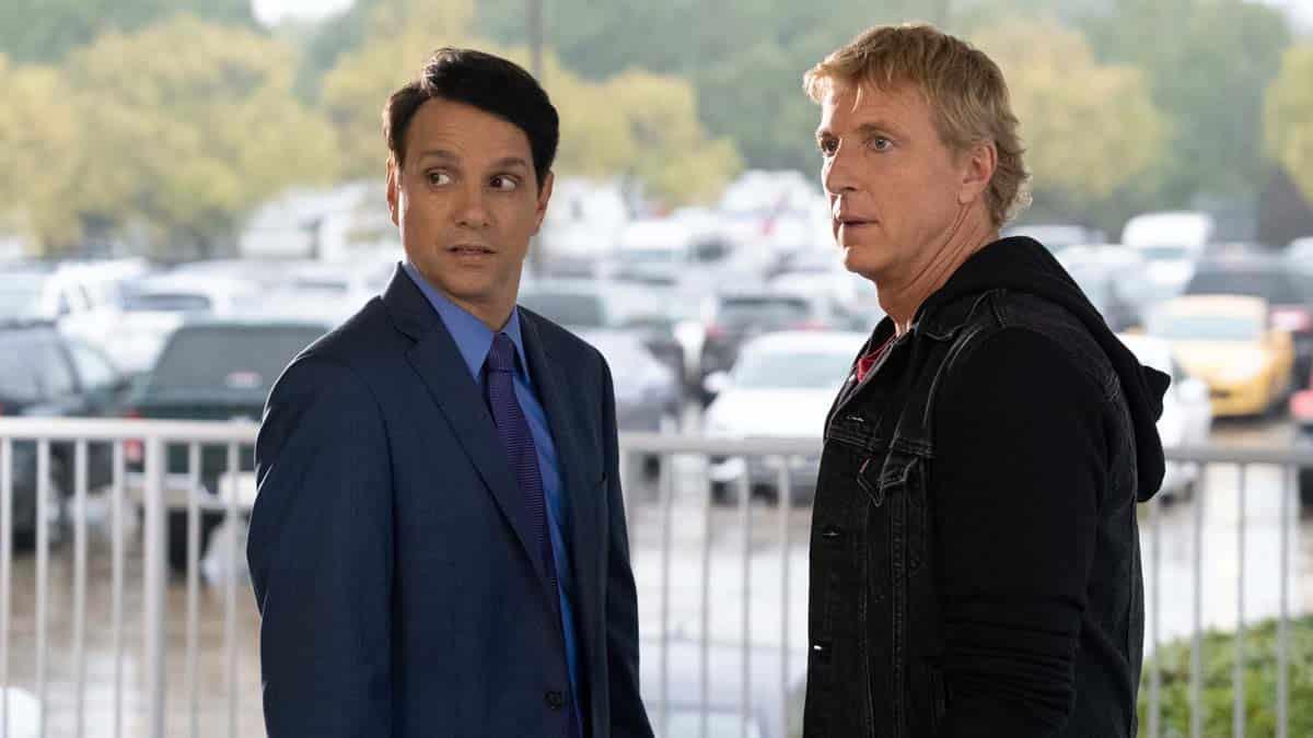 Daniel e Johnny em Cobra Kai