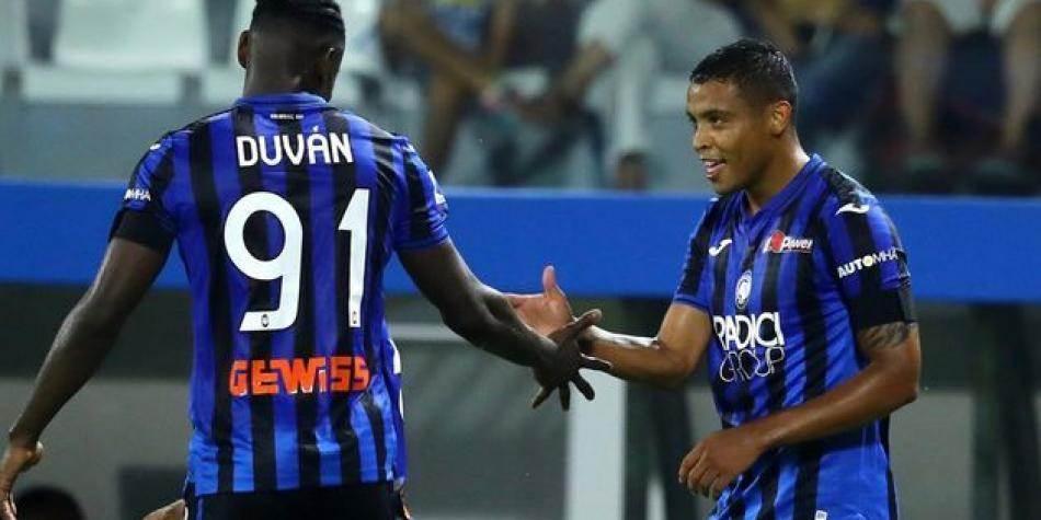 Muriel y Zapata anotaron en la goleada de Atalanta sobre