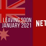 Películas y series de televisión que dejarán Netflix Australia en enero de 2021