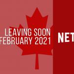 Películas y series de televisión que abandonan Netflix Canadá en febrero de 2021