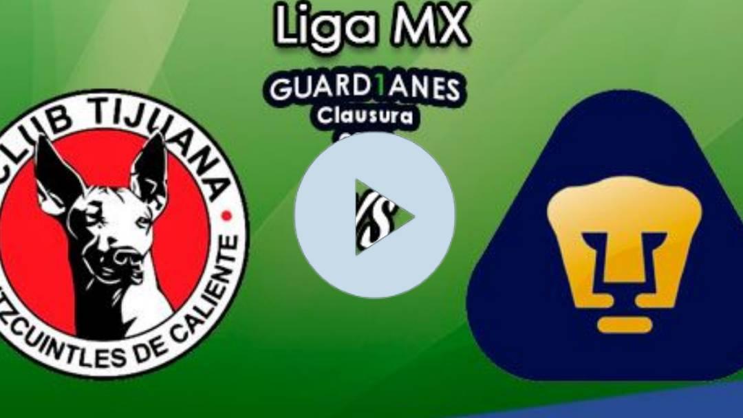 EN VIVO Tijuana vs Pumas ONLINE