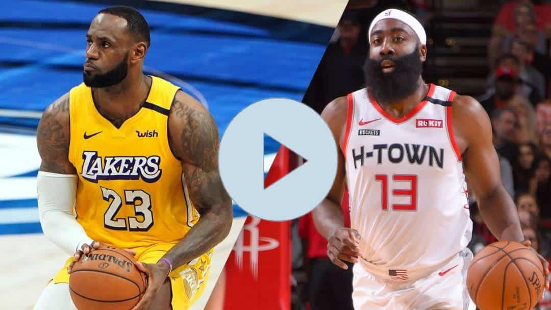 NBA EN VIVO ONLINE Rockets vs. Lakers: Houston Rockets vs. Los Angeles Lakers EN VIVO ONLINE