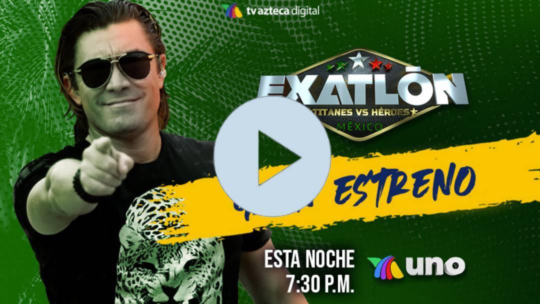 HOY MARTES HEORES VS TITANES: EN VIVO: TITANES VS HEROES: AQUI EXATLON MEXICO 2020