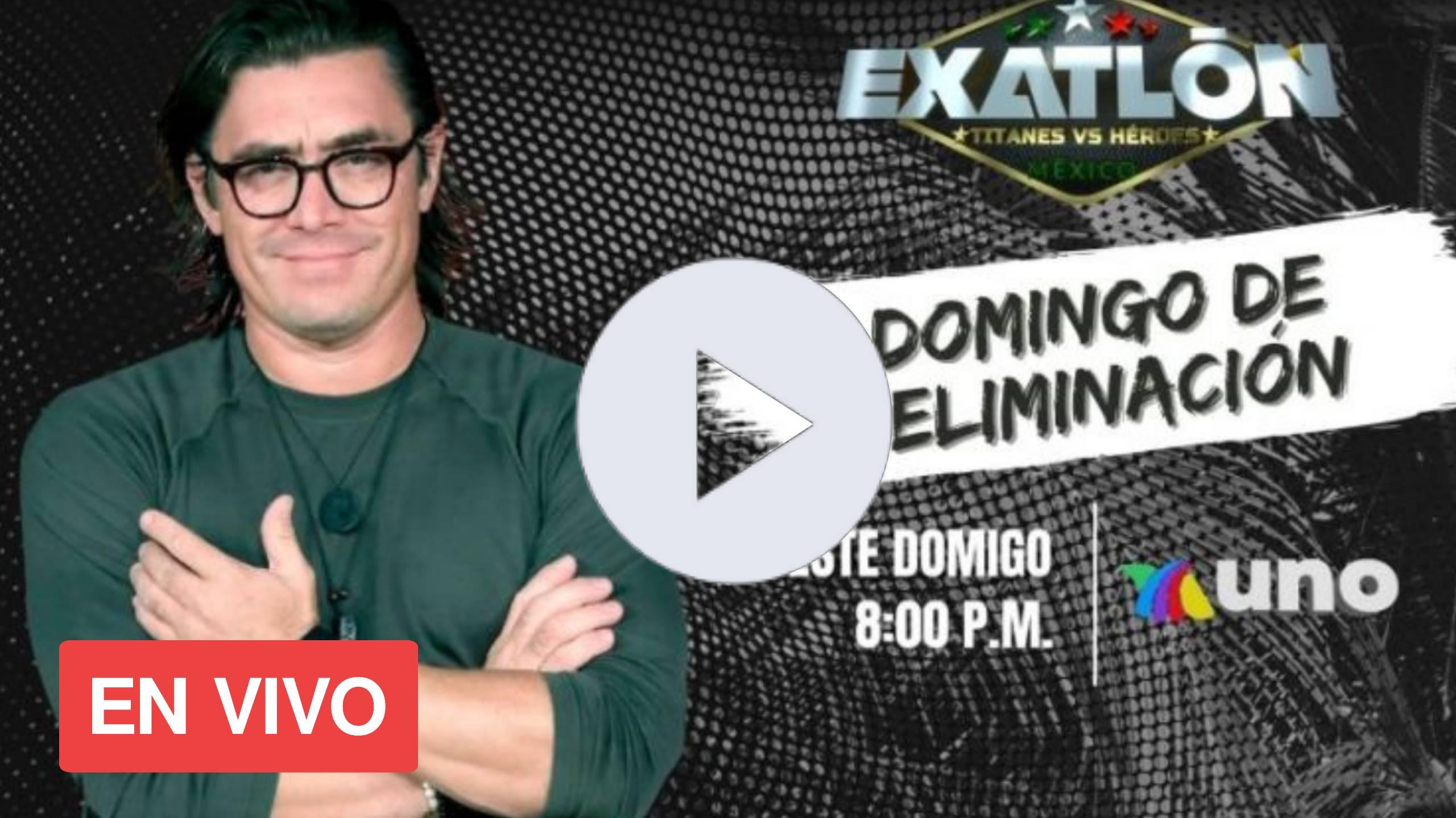 HEROES VS TITANES DOMINGO DE ELIMINACION EXATLON MEXICO 2020