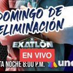 HOY DOMINGO DE ELIMANCION EXATLON MEXICO 2021, TITANES VS HEROES VER EN DIRECTO AZTECA UNO