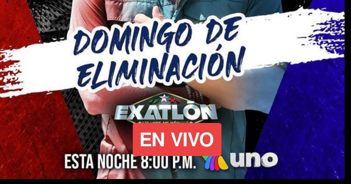 HOY SALE UN ROJO DOMINGO DE ELIMINACION EXATLON MEXICO 2021