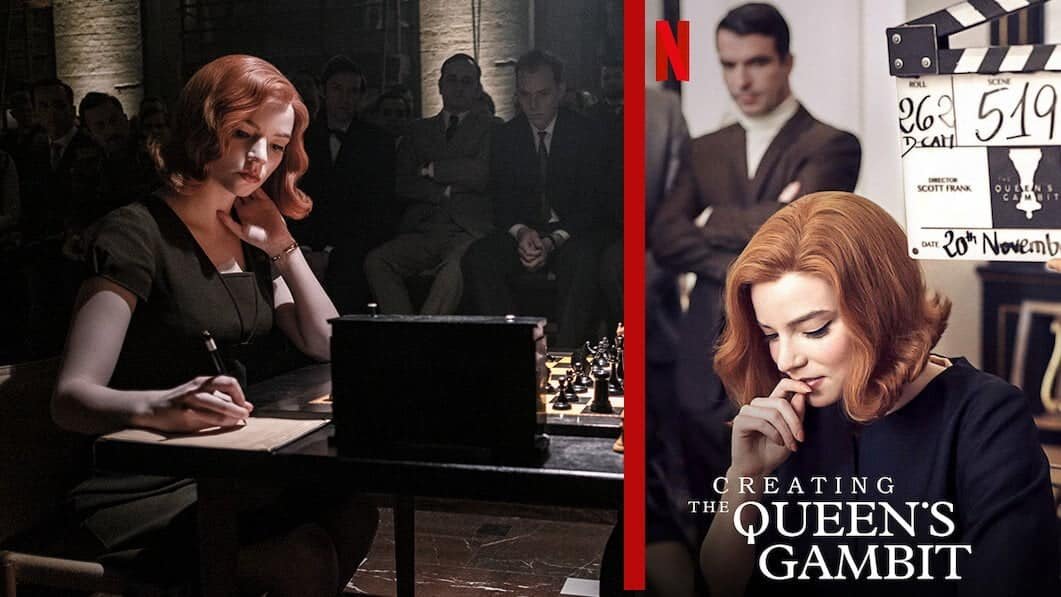 creating the queens gambit new on