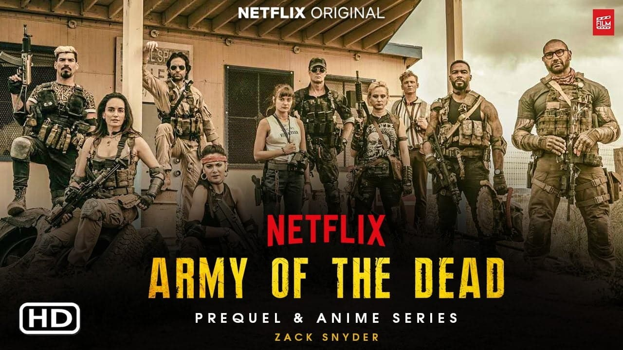 "Netflix películas 2021 : Vea el primer metraje de ""Army of the Dead"", ""Red Notice"" y más."