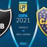 Boca vs.  Newell's EN VIVO por la Copa de la Liga Profesional 2021 [Canales y Horarios]
