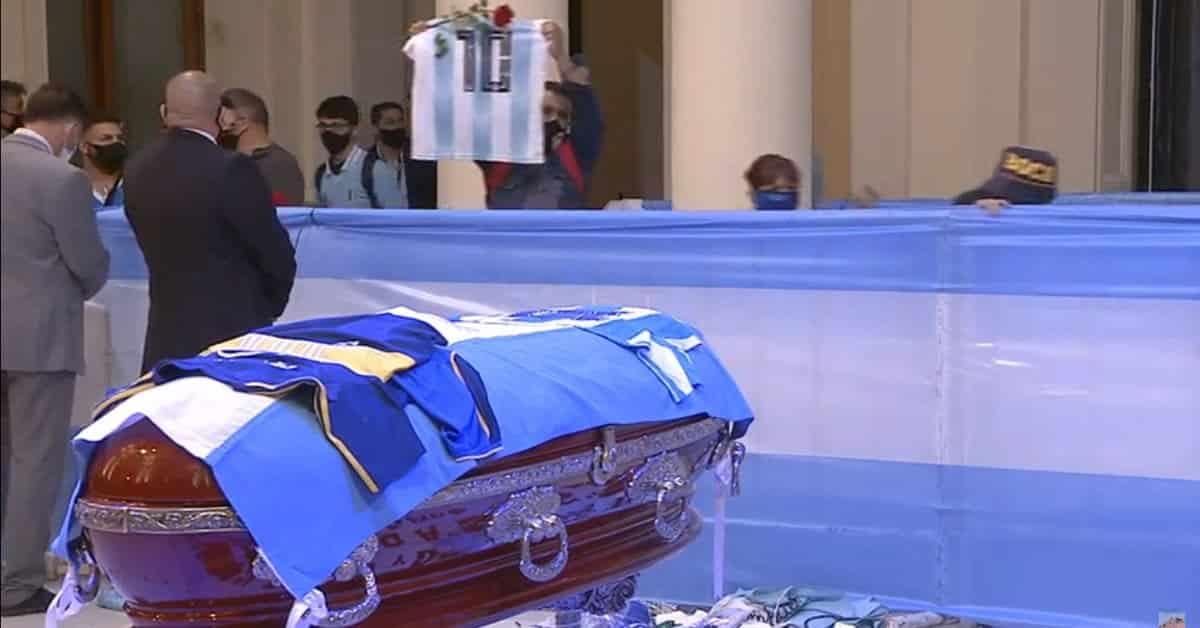 Casa Rosada sube video para seguir despedida de Maradona