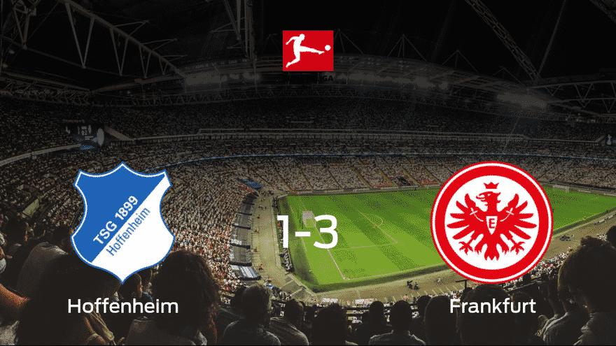 El Eintracht Frankfurt se lleva los tres puntos frente al