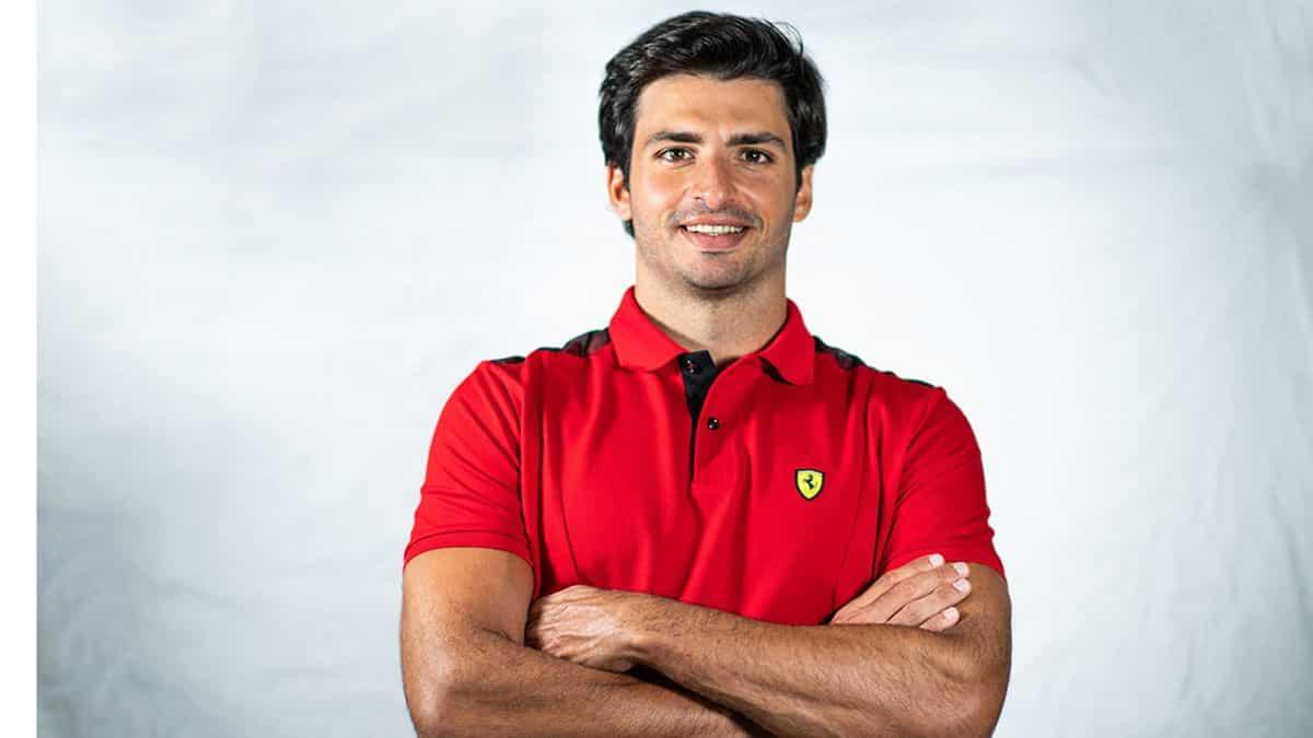 La semana mas especial de Carlos Sainz y Ferrari