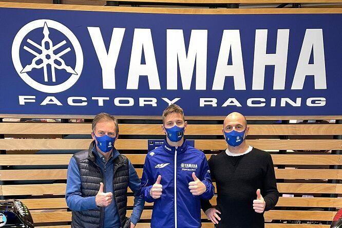 Quartararo primer dia como piloto Yamaha