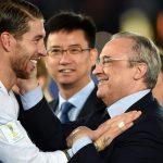 Sergio Ramos frena su marcha del Real Madrid