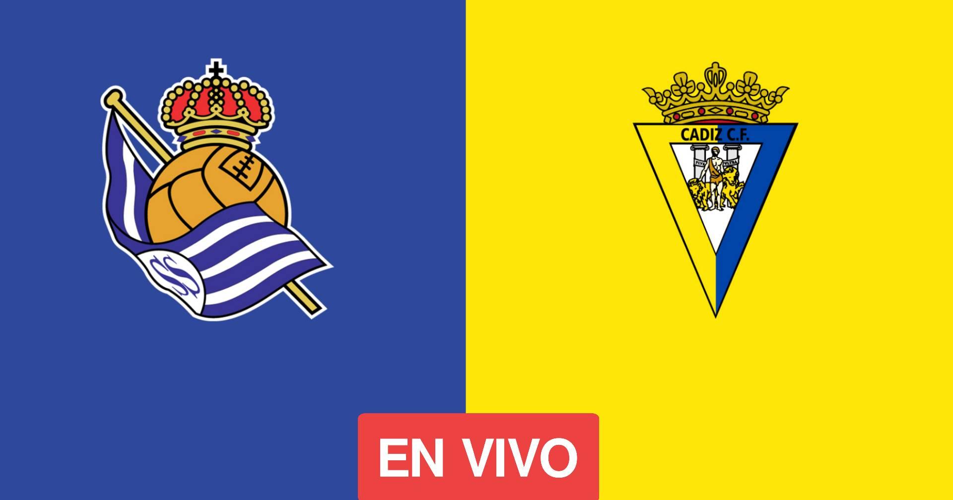 EN VIVO Real Sociedad VS Cádiz