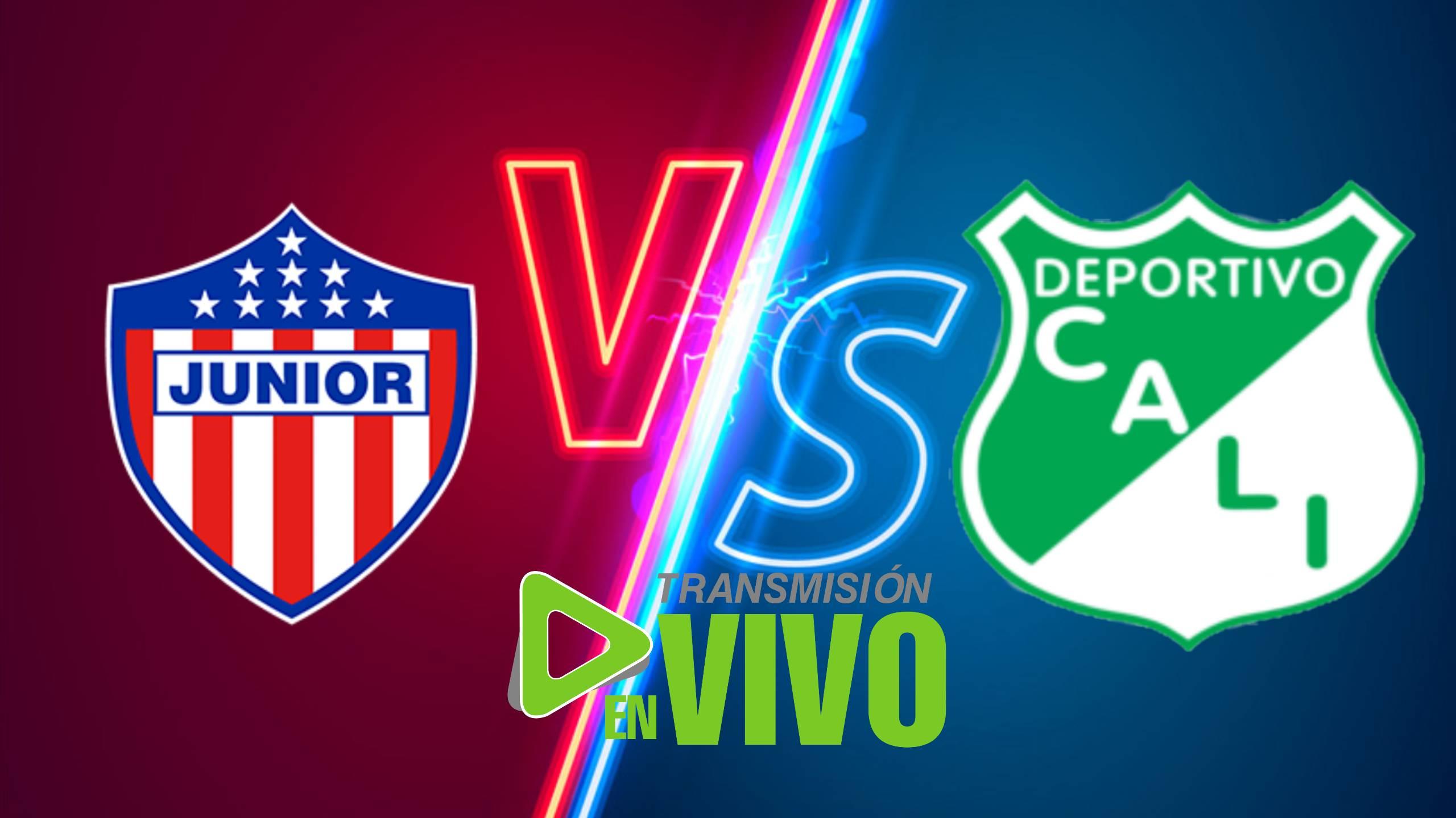 Junior vs Deportivo Cali EN VIVO ONLINE POR LA LIGA BETPLAY 2021