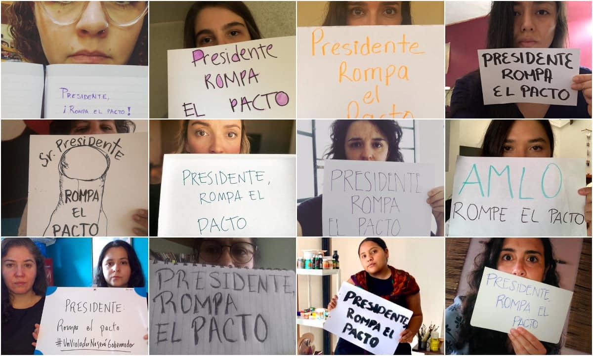 feministas salgado macedonio amlo