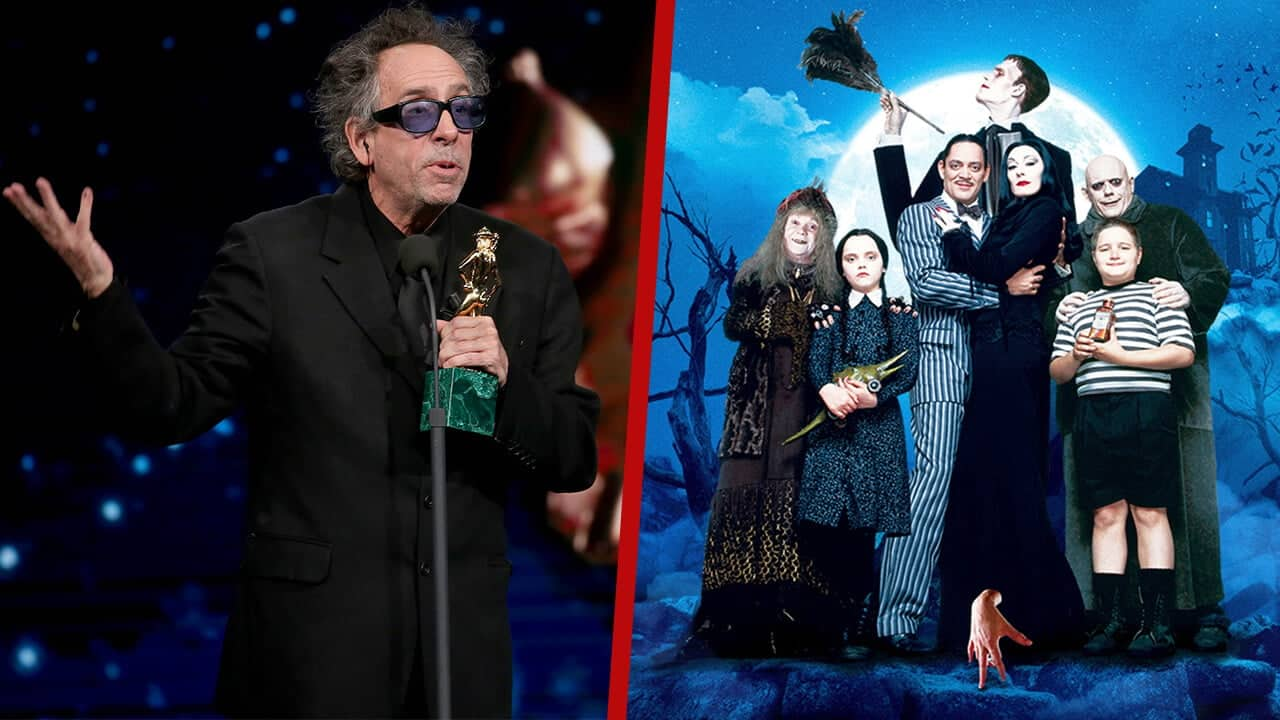 the addams family tim burton series reportedly coming to