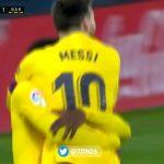 Sueño cumplido: pase de Messi y gol de Ilaix Moriba para el 2-0 Barcelona-Osasuna [VIDEO]