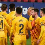 Aprobados y suspensos del Barça en El Sadar: las vacas sagradas y el fogonazo de Ilaix