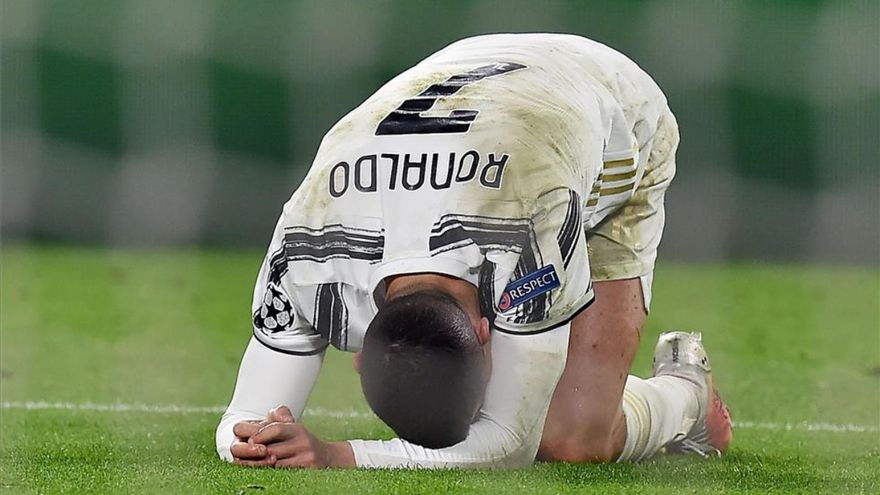 Cristiano y la Juventus fuera de la Champions League y