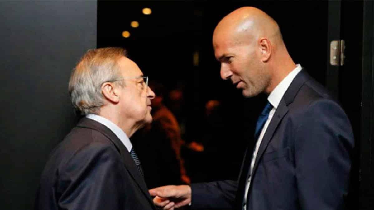 El elegido de Florentino Perez para cargarse a Zidane empieza