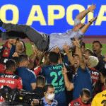 Final agónico: el Inter de los argentinos se quedó en la puerta y Flamengo es bicampeón del Brasileirao