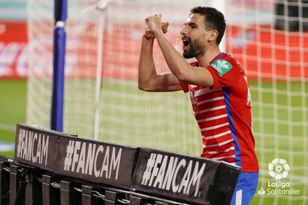 Granada Elche resumen en video del partido de la jornada 25