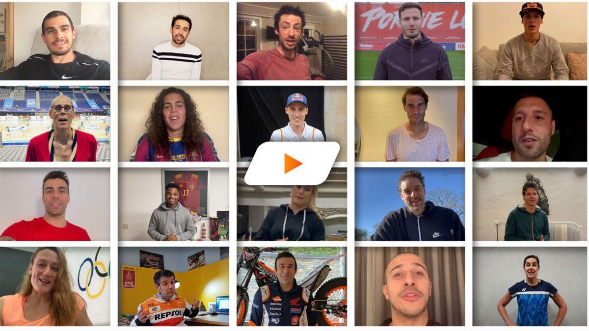 Los reyes del deporte felicitan a Marc Marquez