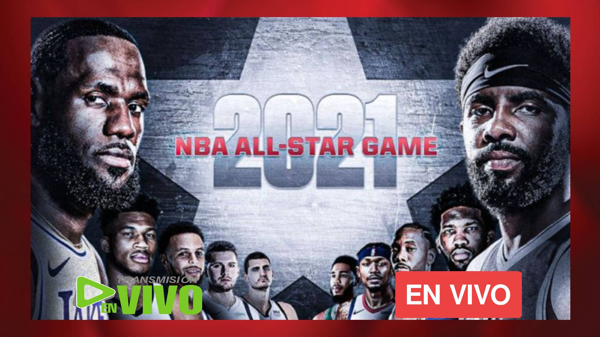 TEAM LeBron vs. TEAM Durant NBA All-Star Game 2021 EN VIVO ONLINE
