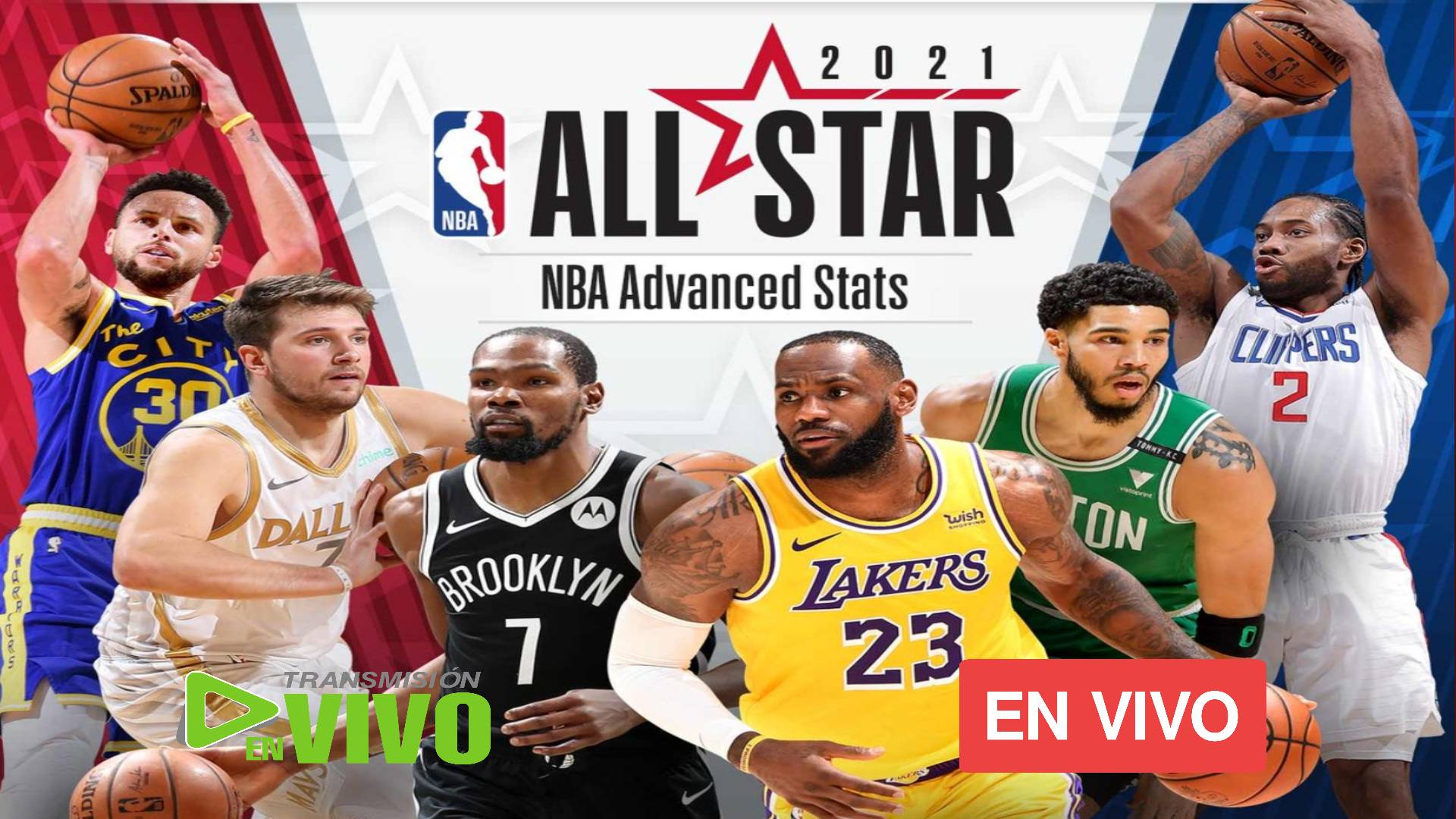 MIRAR AQUI NBA All Star Game 2021 EN VIVO: LeBron vs. Durant