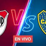 HOY EN VIVO River vs. Boca Juniors: mira los canales de televisión y el horario del Superclásico ARGENTINO