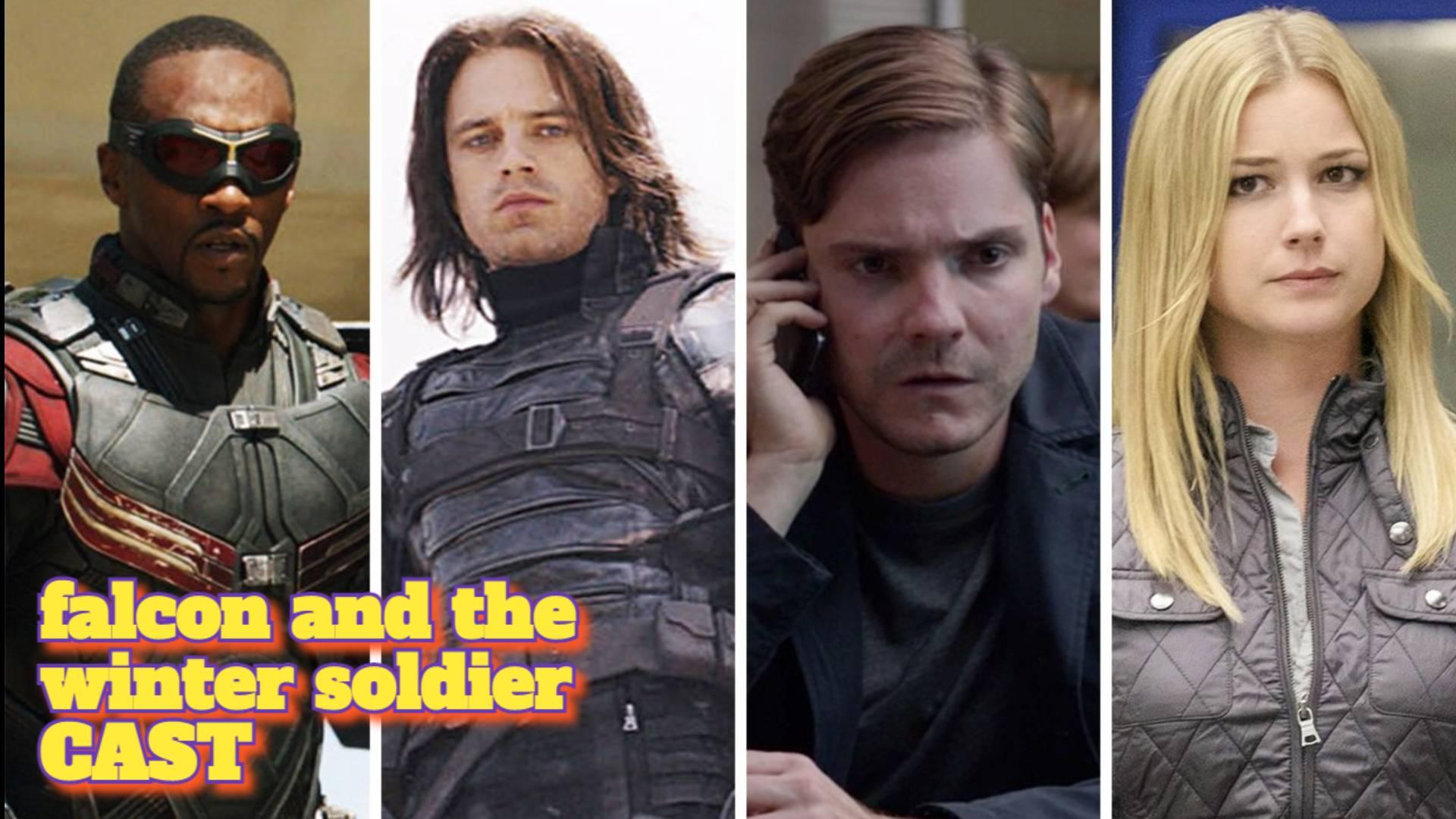 ACTORES, CAST, ELENCO, REPARTO en El Halcon Y El Soldado de Invierno o THE FALCON AND THE WINTER SOLDIER